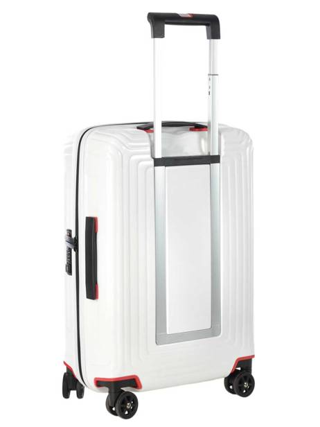 Cabin Luggage Samsonite White neopulse 44D001 other view 4