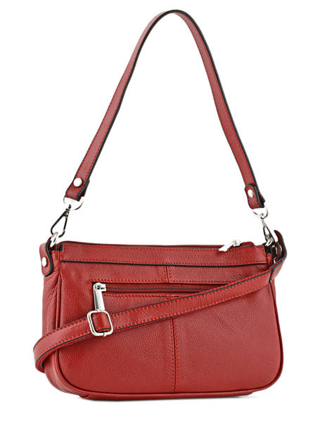 Shoulder Bag Confort Leather Hexagona Red confort 462348 other view 2