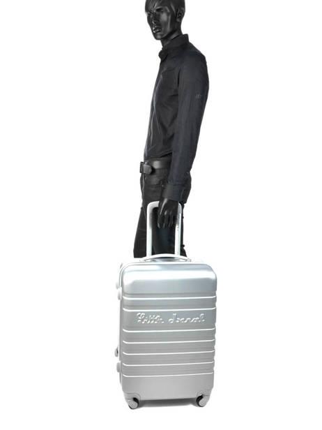 Valise Rigide Malette Little marcel Argent malette MALETT-M vue secondaire 3
