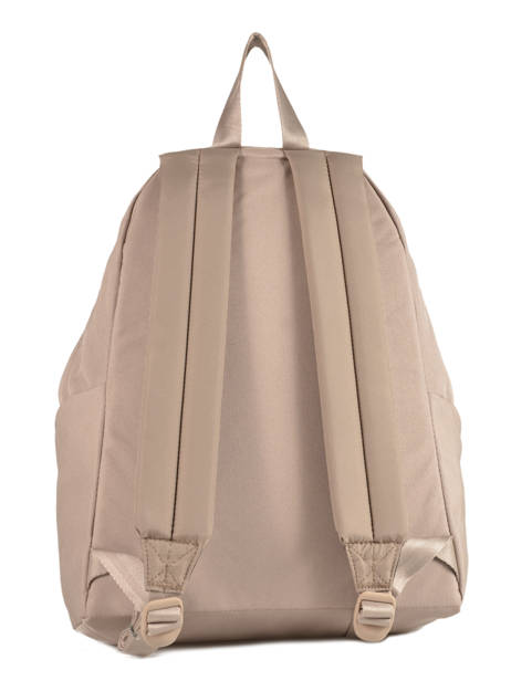 Backpack 1 Compartment A4 Eastpak Beige pbg authentic PBGK620 other view 3