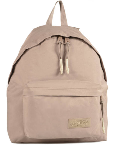 Backpack 1 Compartment A4 Eastpak Beige pbg authentic PBGK620