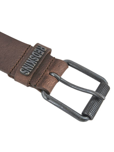 Ceinture Redskins Marron belt REDAIR vue secondaire 1