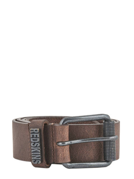 Ceinture Redskins Marron belt REDAIR
