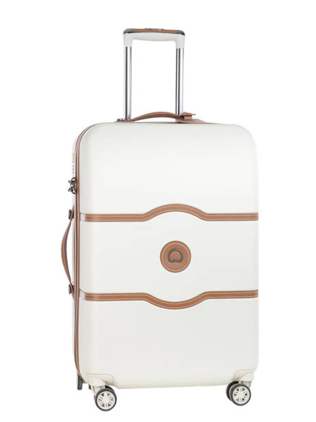 Valise Rigide Chatelet Air Delsey Blanc chatelet air 1672810