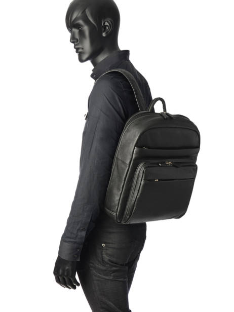 Backpack 15'' Laptop Hexagona Black confort 461351 other view 1