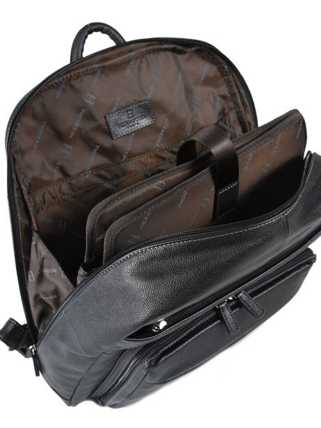 Backpack 15'' Laptop Hexagona Black confort 461351 other view 3