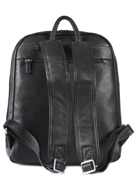 Backpack 15'' Laptop Hexagona Black confort 461351 other view 2