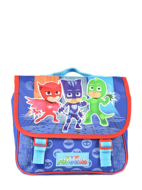 Satchel 1 Compartment Pjmasks Blue go go go 610-8922