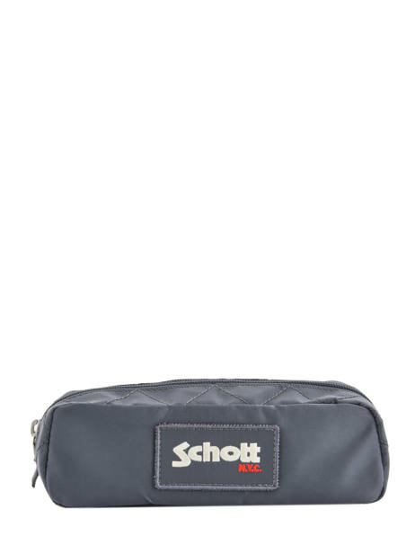 Trousse 1 Compartiment Schott Gris army 18-11708