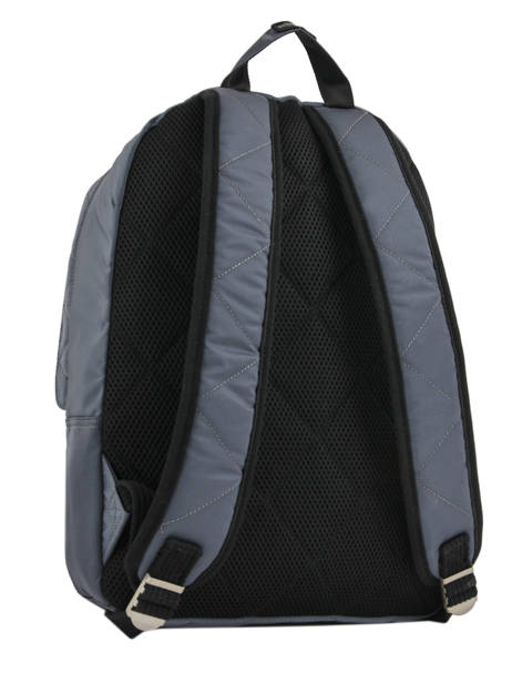 Backpack 1 Compartment Schott Gray army 18-62708 other view 4