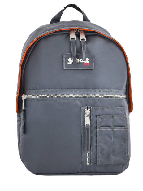 Backpack 1 Compartment Schott Gray army 18-62708