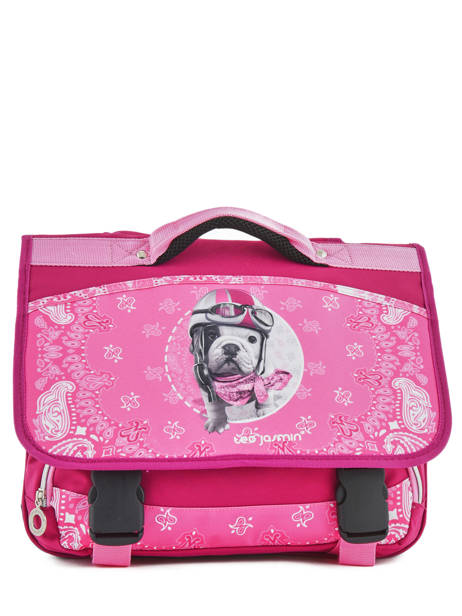 Satchel 2 Compartments With Free Pencil Case Teo jasmin Pink bandana TAL13007 other view 1
