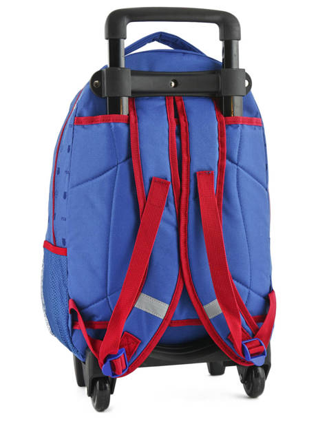 Wheeled Backpack Fc barcelone Blue we are 490-8798 other view 4