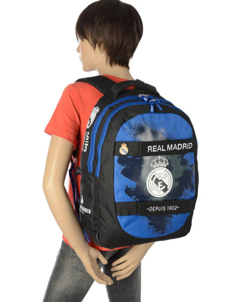 Backpack Real madrid Black 1902 183R204S other view 2