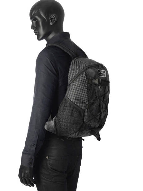 Backpack 1 Compartment Dakine Black street packs 8130-060 other view 2