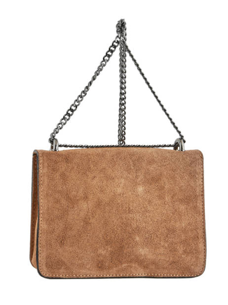 Shoulder Bag Velvet Milano Brown velvet VE17111 other view 2