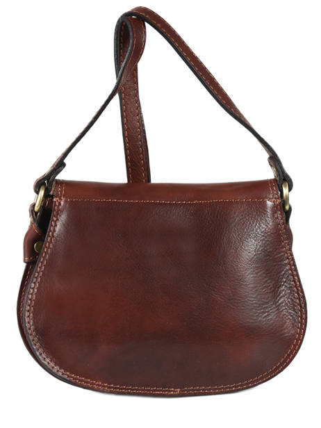 Tempo Small Saddle Bag Milano Brown tempo TE18062 other view 2