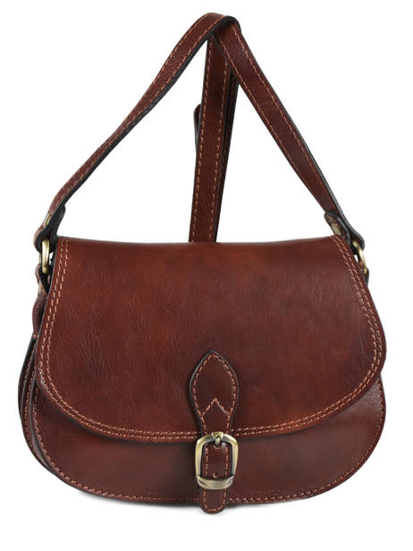 Tempo Small Saddle Bag Milano Brown tempo TE18062