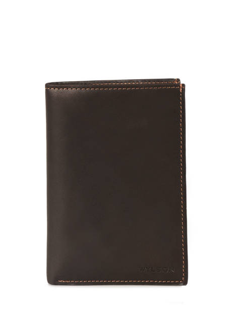 Wallet Leather Wylson Brown rio W8190-9