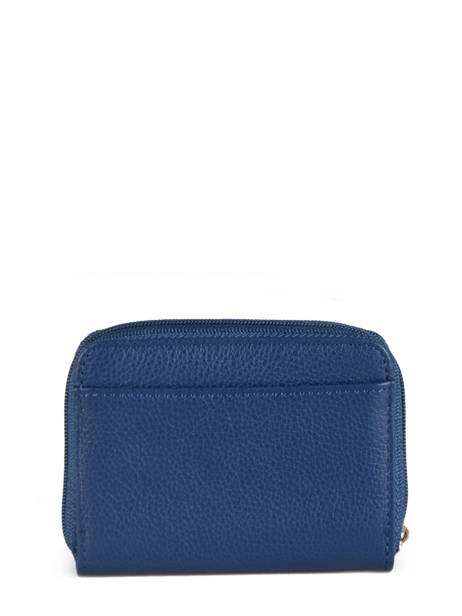 Leather Card Holder Confort Hexagona Blue confort 463042 other view 2