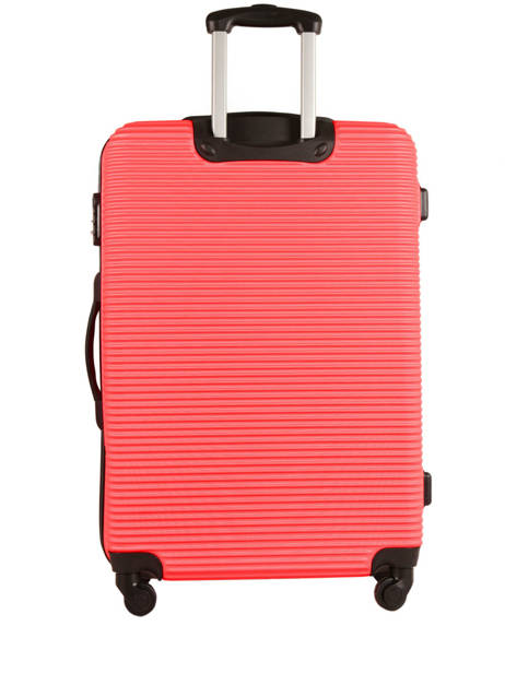 Valise Rigide Madrid Travel Rouge madrid IG1701-M vue secondaire 4