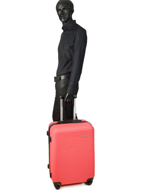 Valise Rigide Madrid Travel Rouge madrid IG1701-M vue secondaire 3