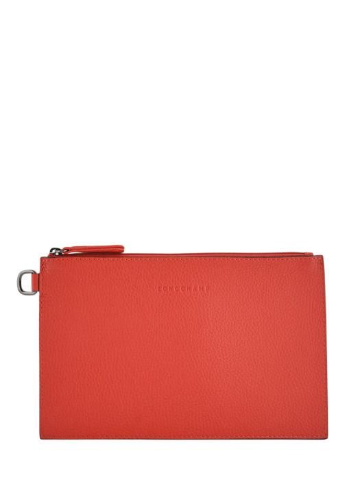 Longchamp Roseau essential Clutches Red