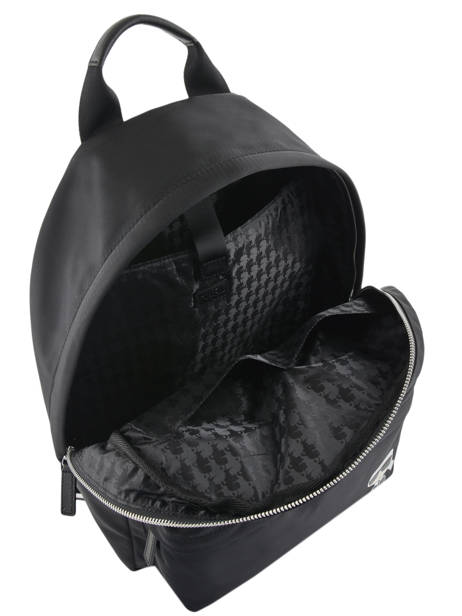 Sac à Dos Business A4 + Pc 15'' Karl lagerfeld Noir k ikonic 86KW3087 vue secondaire 5