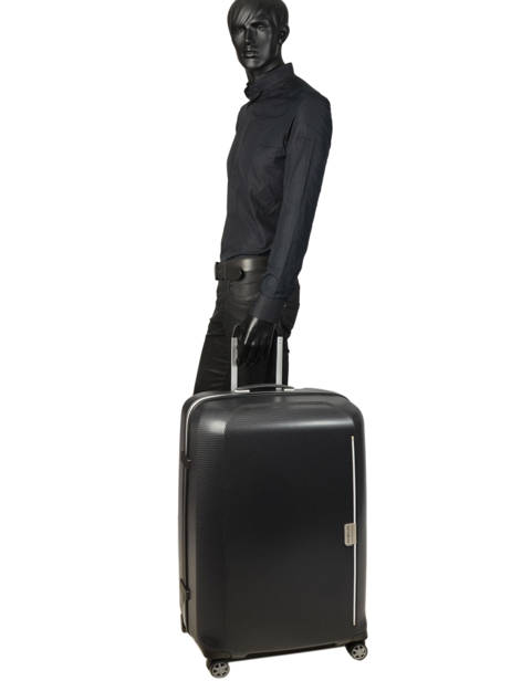 Hardside Luggage Mixmesh Samsonite Black mixmesh CH6003 other view 4