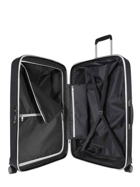 Hardside Luggage Mixmesh Samsonite Black mixmesh CH6003 other view 6