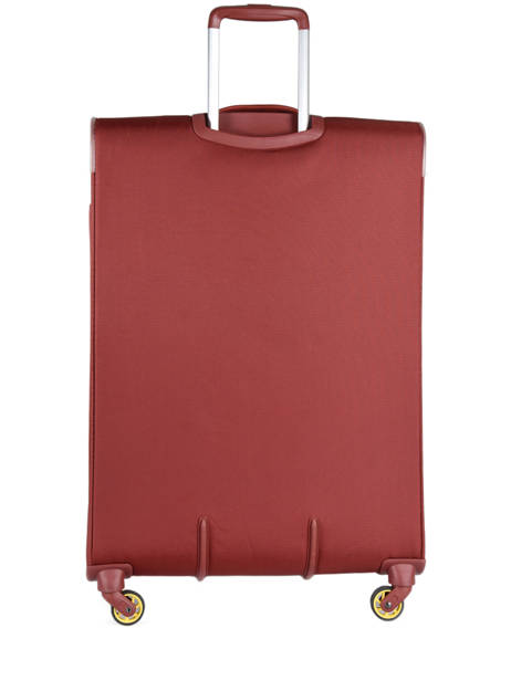 Softside Luggage Expendable Chartreuse Delsey Red chartreuse 3673811 other view 4