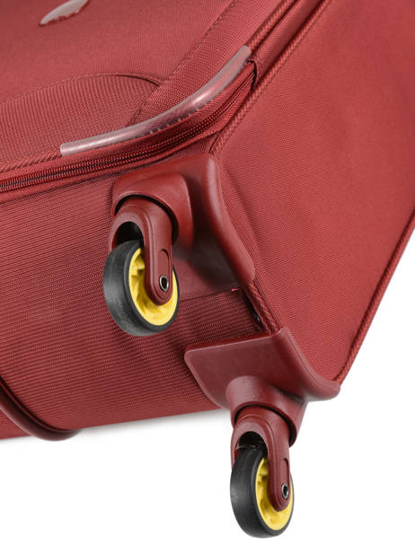 Softside Luggage Expendable Chartreuse Delsey Red chartreuse 3673811 other view 2