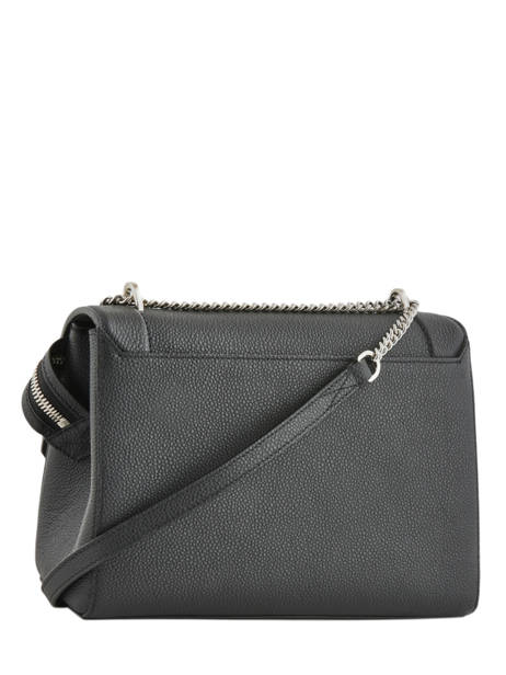Top Handle L Ninon Leather Lancel Black ninon A09223 other view 3