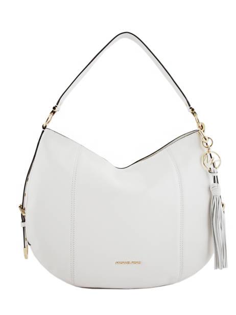 Hobo Bag Brooke Leather Michael kors White brooke S9GOKH7L
