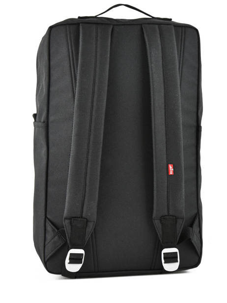 Backpack Levi's Original 1 Compartment + 15'' Pc Levi's Black l pack 229933 other view 3