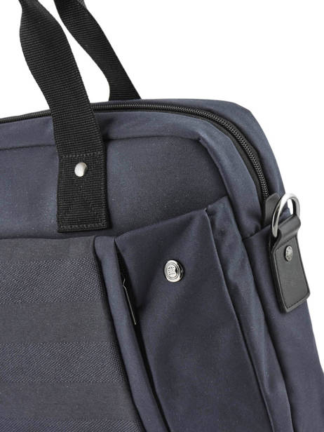 Laptop Briefcase Trentino Serge blanco Blue trentino TRE41004 other view 1