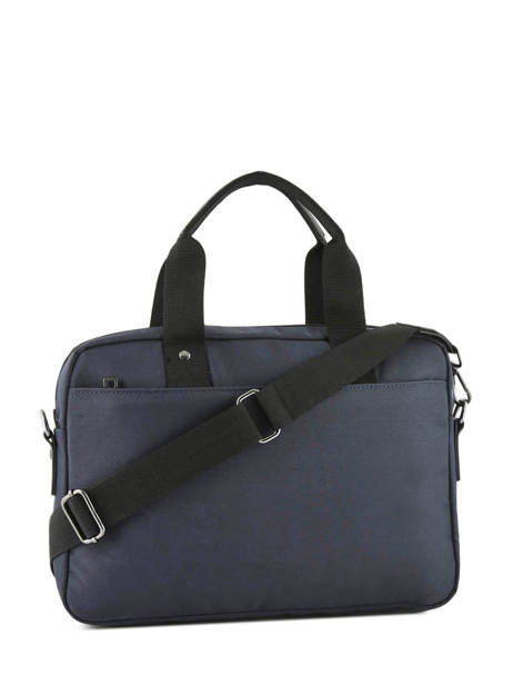 Laptop Briefcase Trentino Serge blanco Blue trentino TRE41004 other view 3