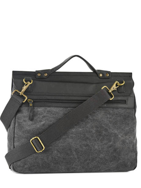 Messenger Bag Harbor Etrier Black harbor EHAR01 other view 3