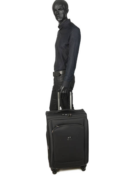 Softside Luggage Montmartre Air 2.0 Delsey Black montmartre air 2.0 2352810 other view 3