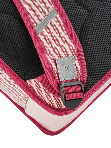 Satchel 2 Compartments Cameleon Pink retro vinyl REV-CA38 other view 2