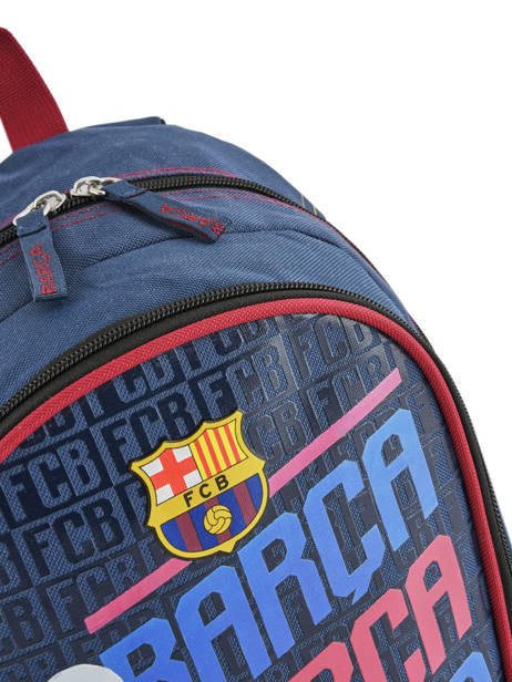 Backpack Fc barcelone Blue barca 193F201S other view 1