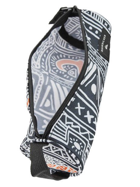 Trousse 1 Compartiment Pencilo Print Quiksilver Multicolore youth access kids QBAA3071 vue secondaire 3