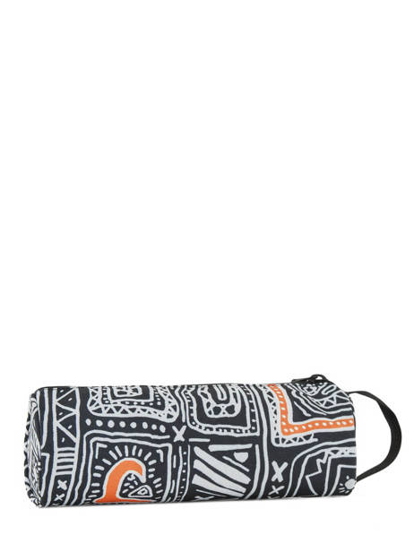 Trousse 1 Compartiment Pencilo Print Quiksilver Multicolore youth access kids QBAA3071 vue secondaire 2