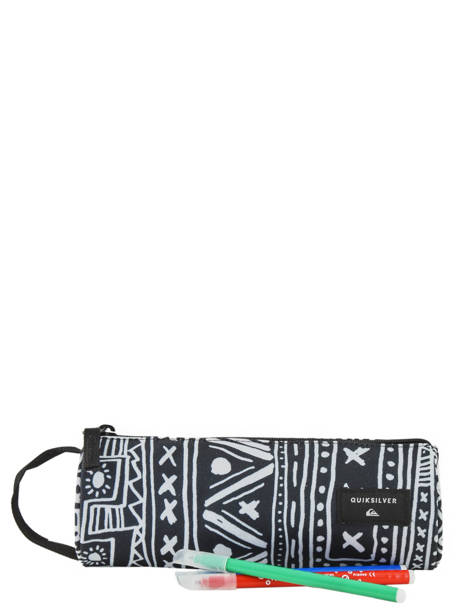 Trousse 1 Compartiment Pencilo Print Quiksilver Multicolore youth access kids QBAA3071 vue secondaire 1