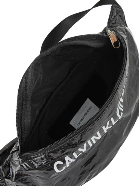 Fanny Pack Calvin klein jeans Black wet tyvec K605527 other view 6