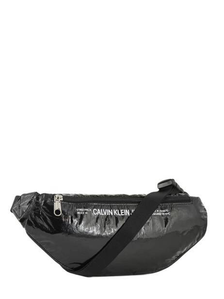 Fanny Pack Calvin klein jeans Black wet tyvec K605527 other view 5