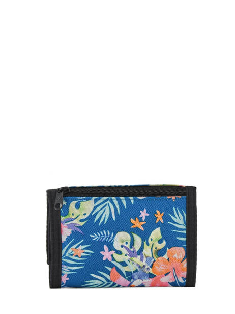 Wallet Leather Rip curl Blue toucan flora LWULE4 other view 1