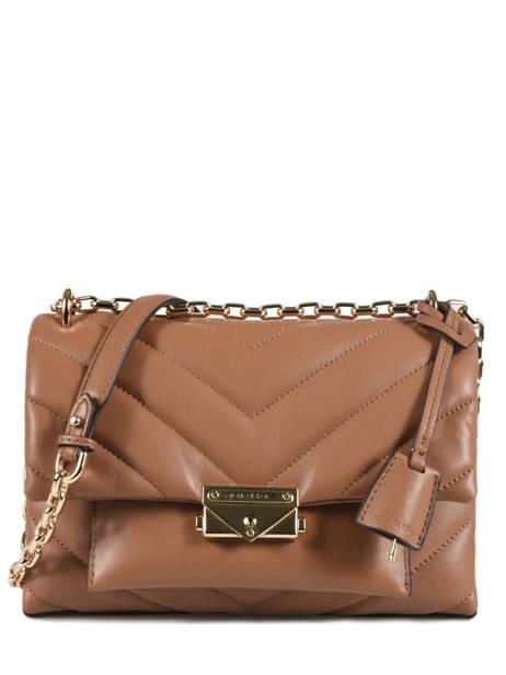 Quilted Leather Cece Shoulder Bag Michael kors Brown cece T9G0EL8L
