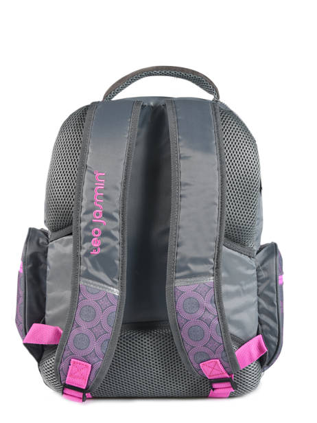 Backpack 2 Compartments With Free Pencil Case Teo jasmin Violet teo titi TEO22110 other view 2