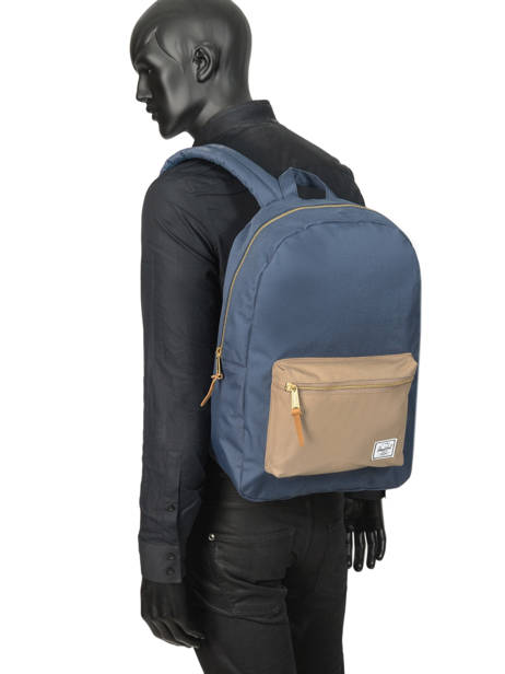 Backpack 1 Compartment + 13'' Pc Herschel Black classics 10005 other view 3